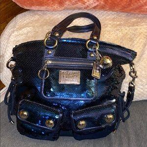 Coach sequin poppy bag